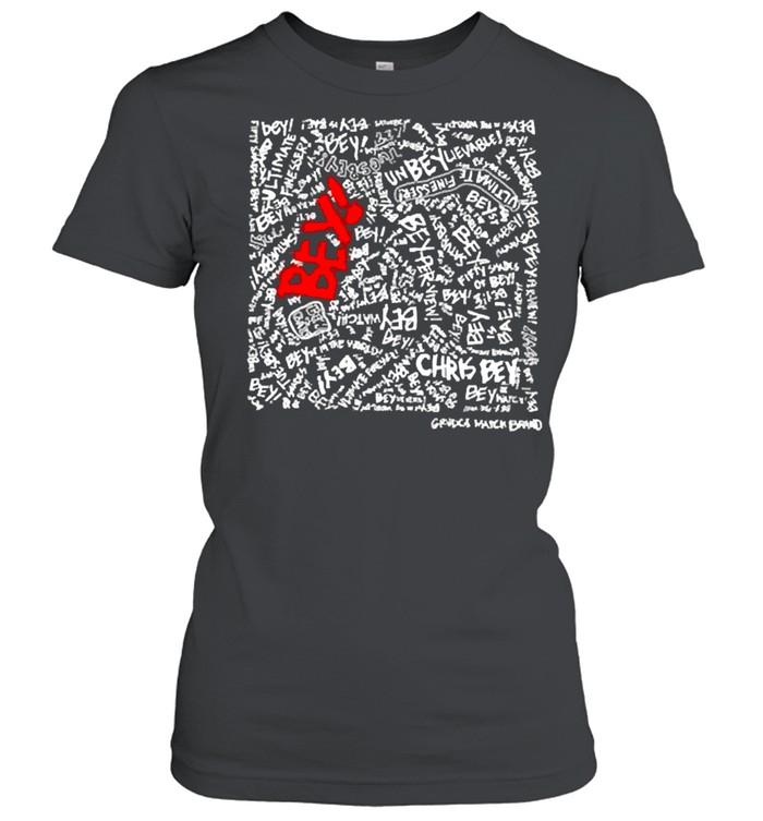 Chris bey x grudgematchbrand misery beysiness shirt Classic Women's T-shirt