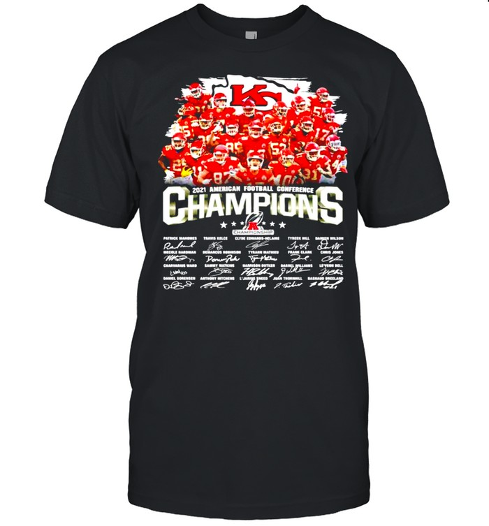 Kansas City Chiefs 2021 American football conference champions shirt Classic Men's T-shirt
