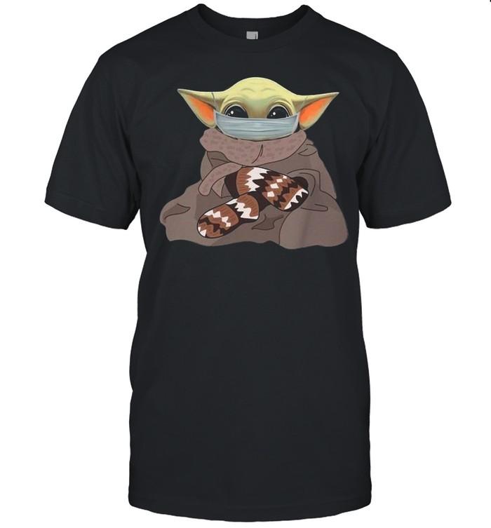 Bernie Sanders Star Wars Baby Yoda Face Mask 2021 shirt Classic Men's T-shirt