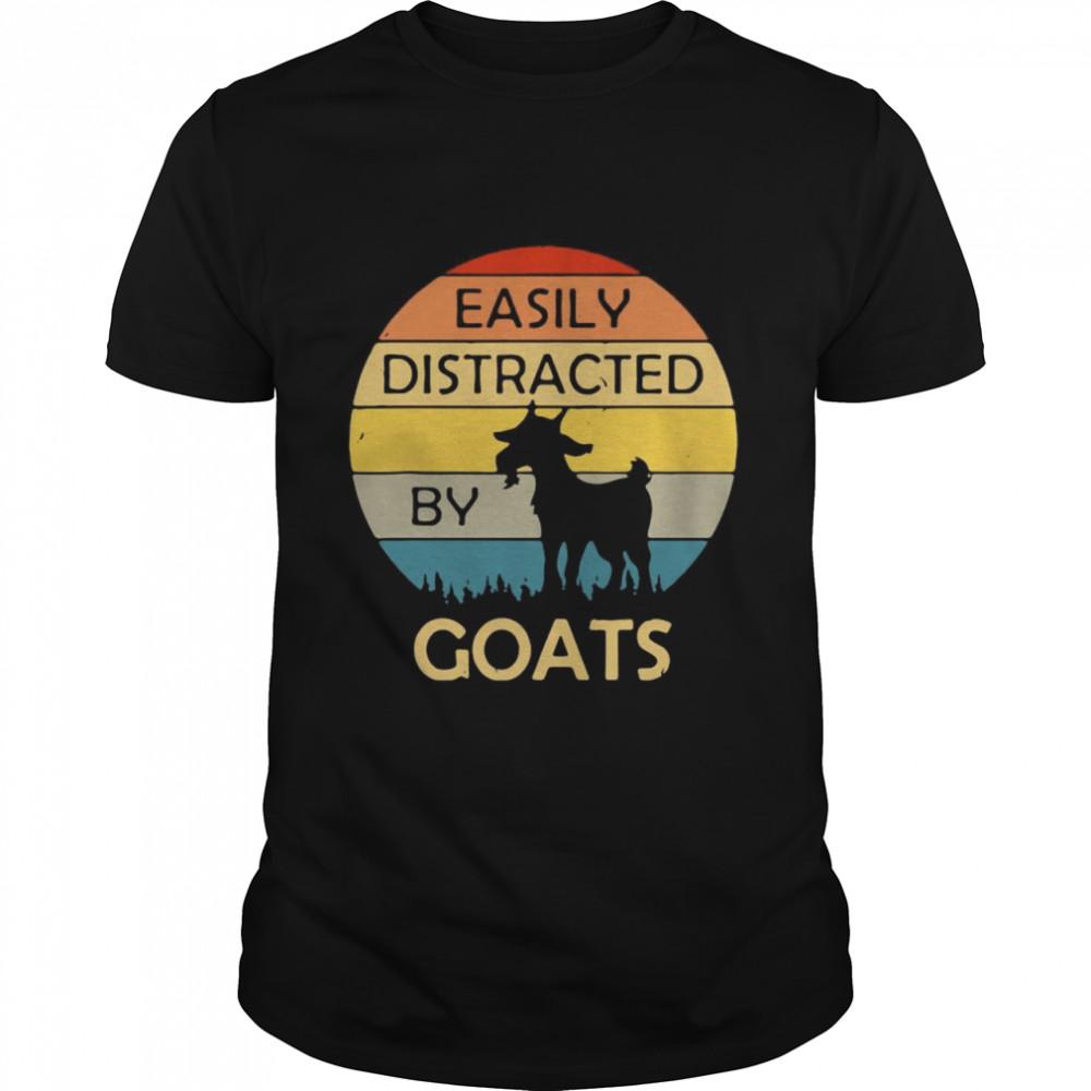 Goats 2021 vintage sunset shirt Classic Men's T-shirt