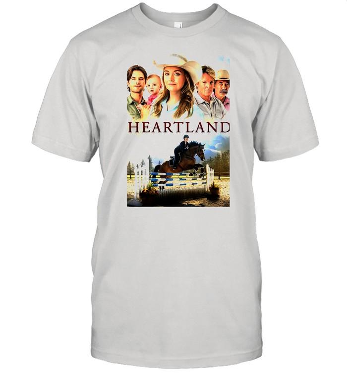 Amy Et Ty Heartland shirt Classic Men's T-shirt