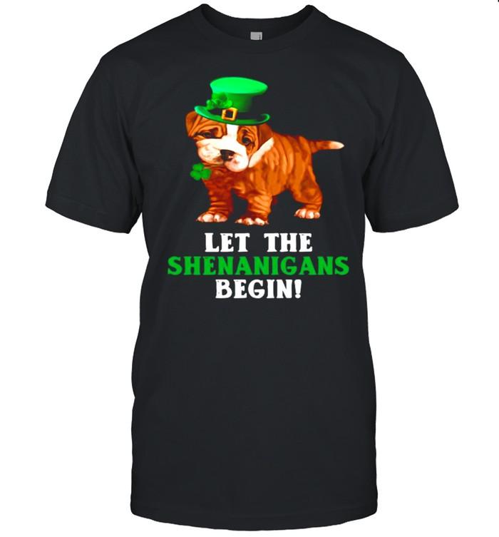 Pitbull Let The Shenanigans Begin shirt Classic Men's T-shirt