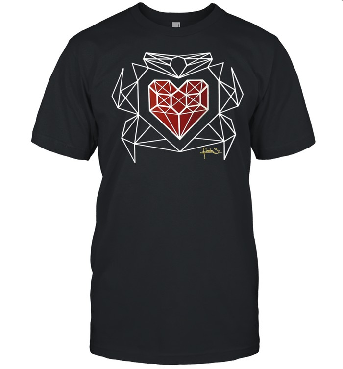 Valentines Day Heart and shirt Classic Men's T-shirt