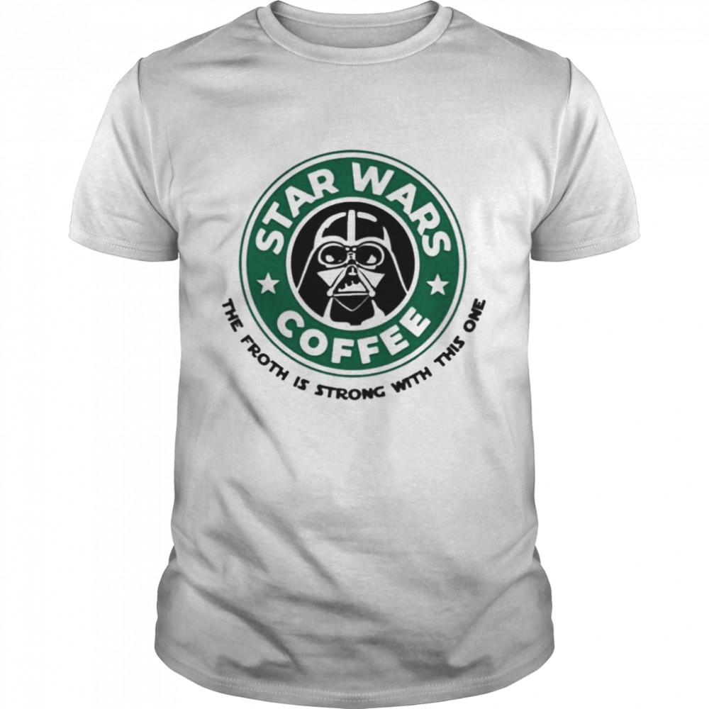 Starbucks Star Wars Coffee shirt Classic Men's