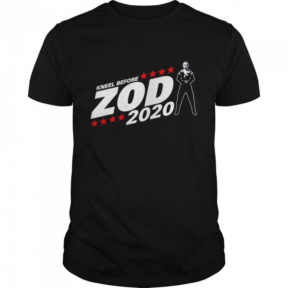 Kneel Before Zod 2020 shirt Classic Men's