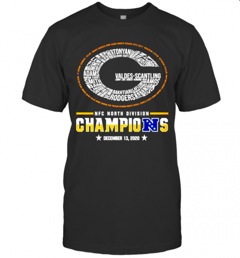 Green Bay Packers NFC North Division Champions shirt Classic Men's