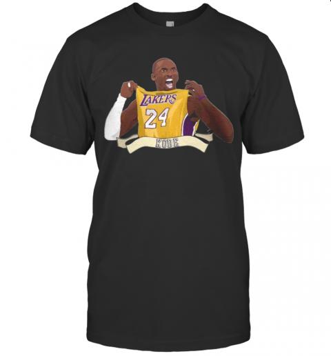 Kobe Bryant 24 Los Angeles Lakers shirt Classic Men's