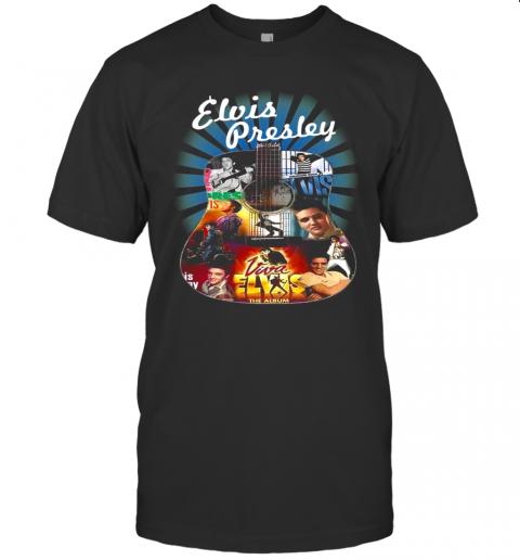 Elvis Presley Guitar The Album shirt Classic Men's