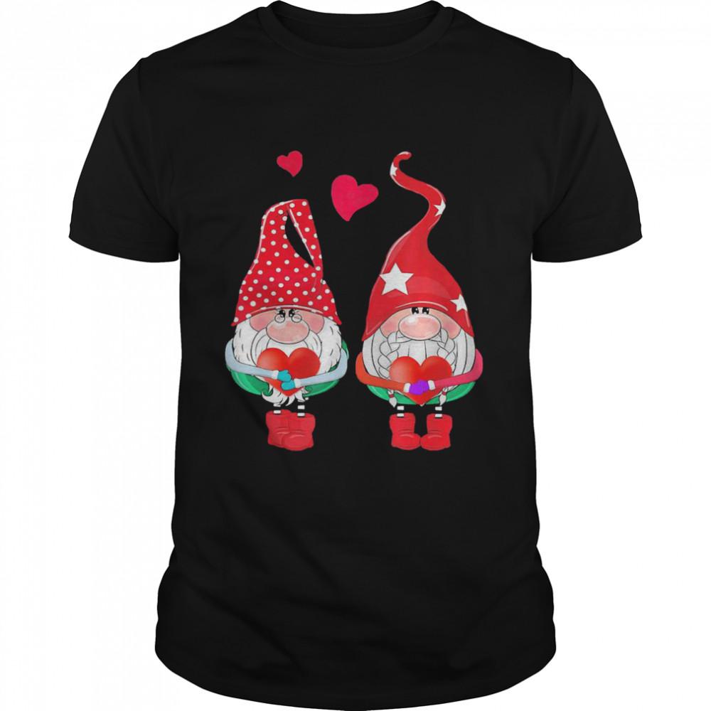 Gnomes Hug Heart Merry Christmas 2020 shirt Classic Men's