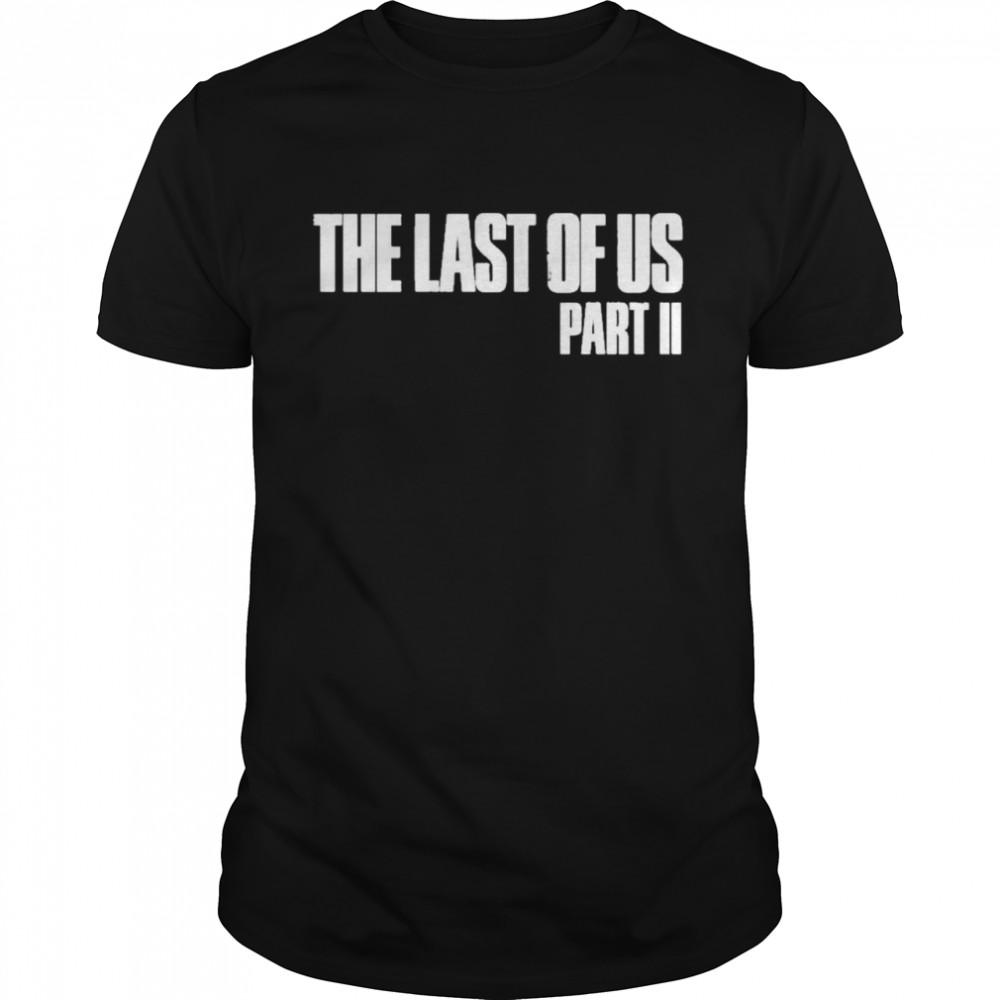 The last of us merchandise the last of us part ii shirt Classic Men's