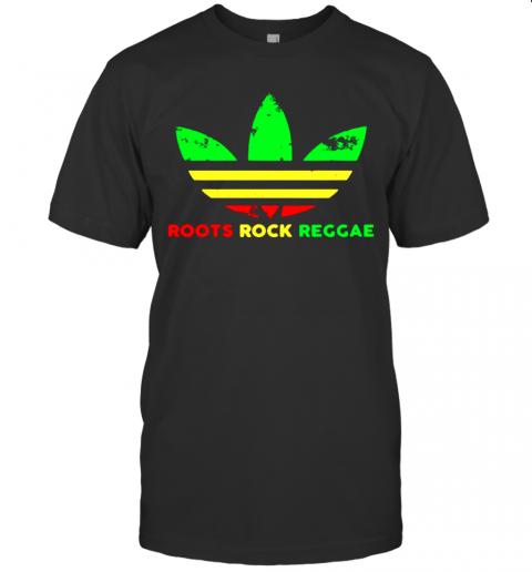 Adidas Logo Roots Rock Reggae shirt Classic Men's