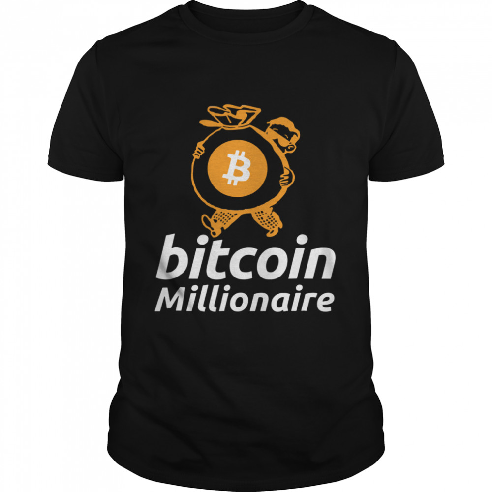 Bitcoin Millionaire For Bitcoin Miners And Traders shirt Classic Men's