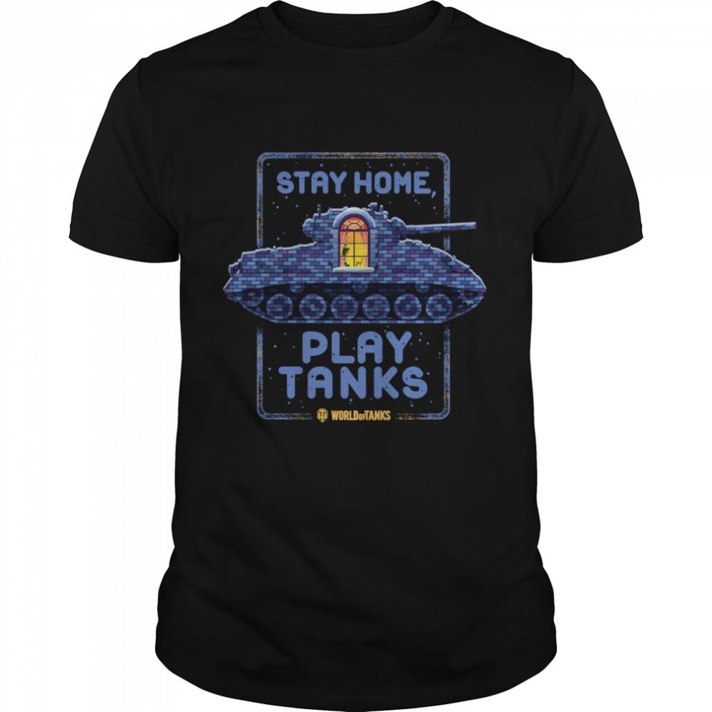 Stay Home, Play Tanks shirt Classic Men's