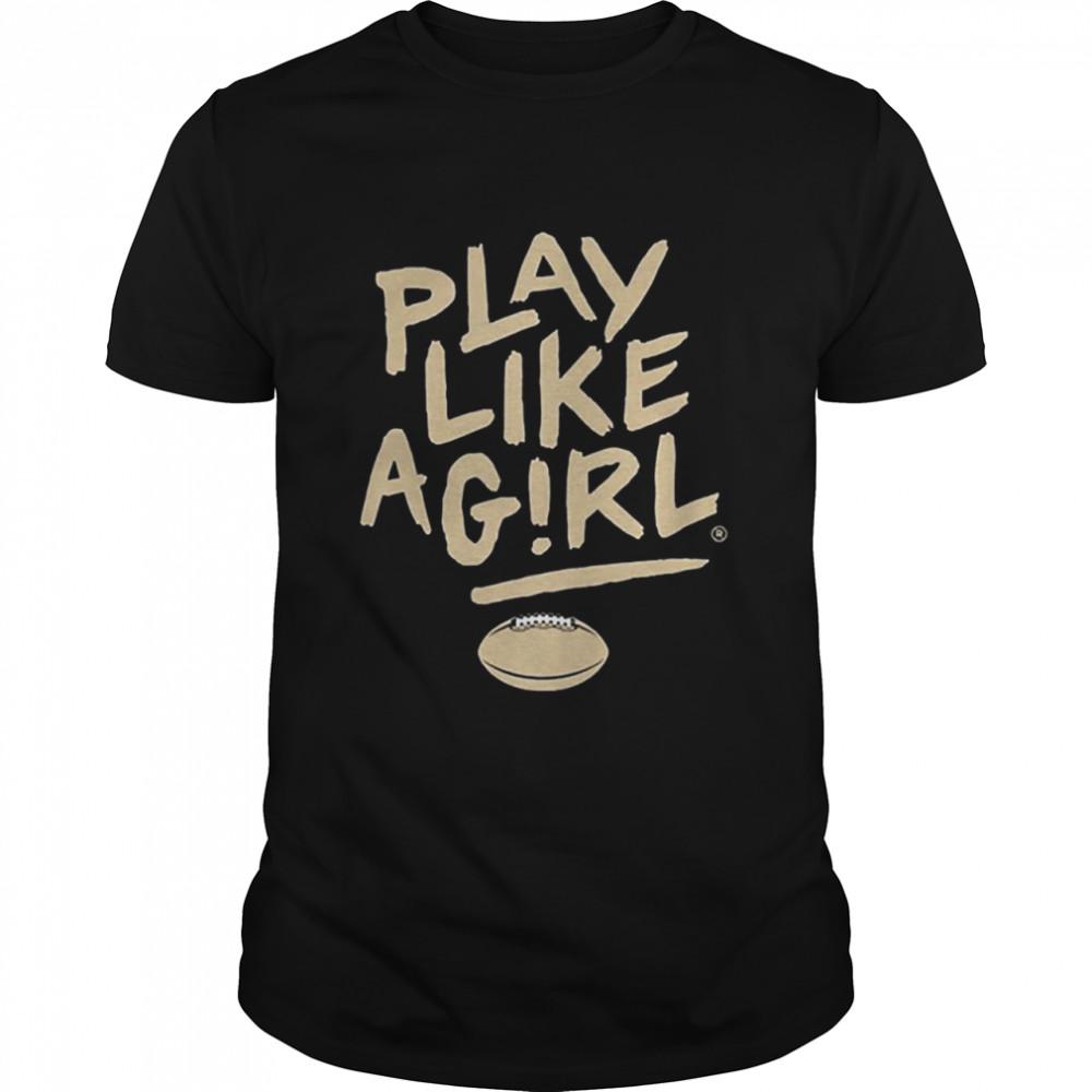 Play like a girl 2020 shirt Classic Men's