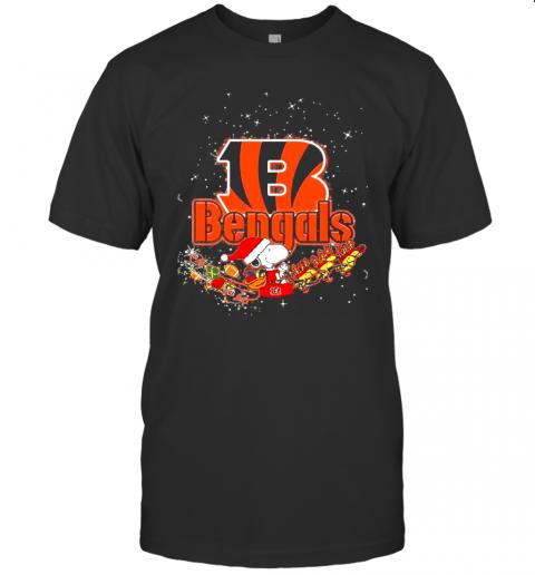 Cincinnati Bengals Snoopy Christmas shirt Classic Men's