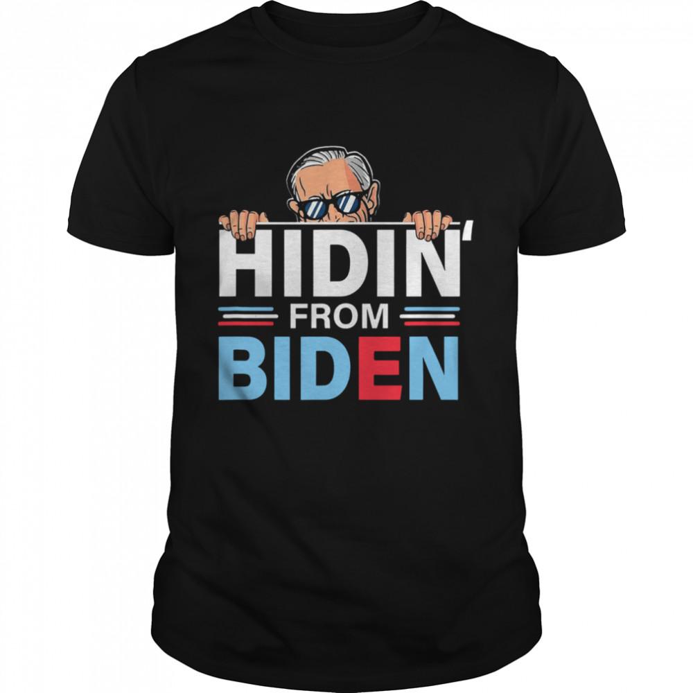 Hidin From Biden shirt Classic Men's