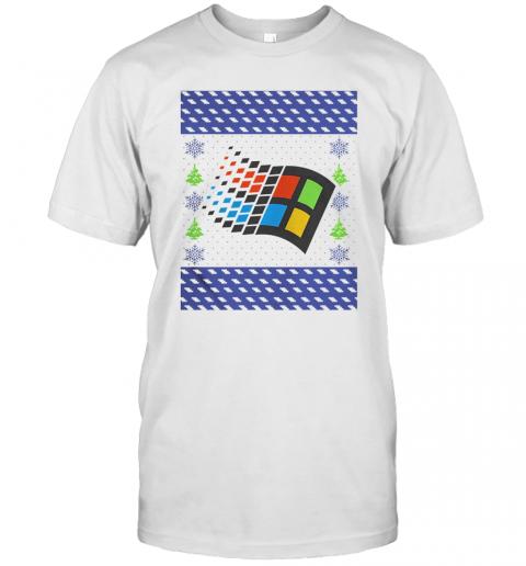 Microsoft Windows XP Ugly shirt Classic Men's