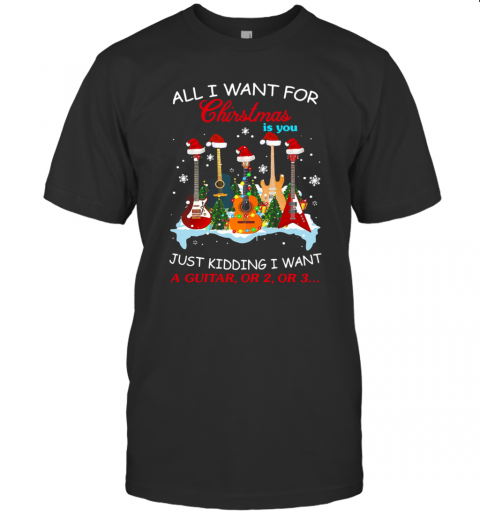 All I Want For Christmas Is The Rolling Stones Ugly Christmas shirt Classic Men's