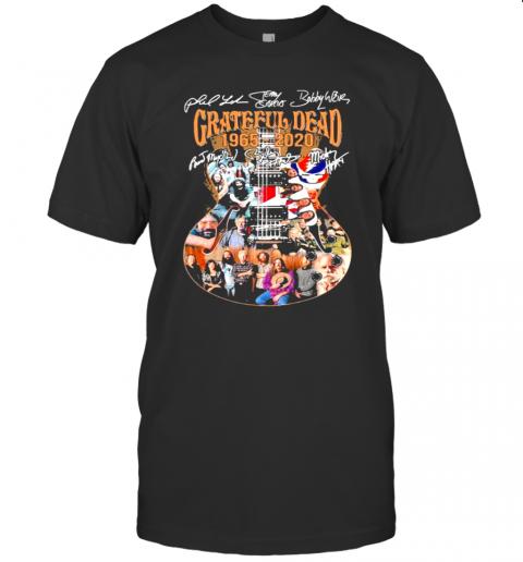 Grateful Dead 1965 2020 Signuature Guitar shirt Classic Men's