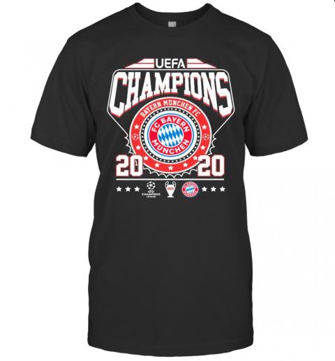 UEFA Champions Bayern Munchen FC 2020 shirt Classic Men's