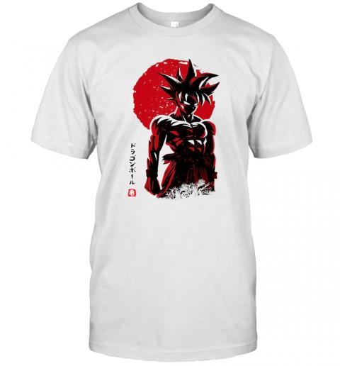 Dragon Ball Z Super Saiyan Songoku shirt Classic Men's