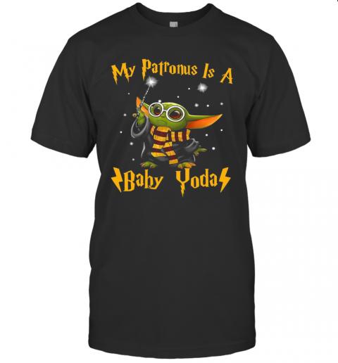 My Patronus Is A Baby Yoda shirt Classic Men's