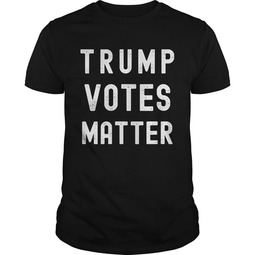 Trump Votes Matter Election 2020 shirt Classic Men's