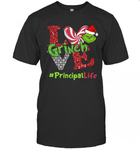 Love Grinch #Principallife Christmas shirt Classic Men's
