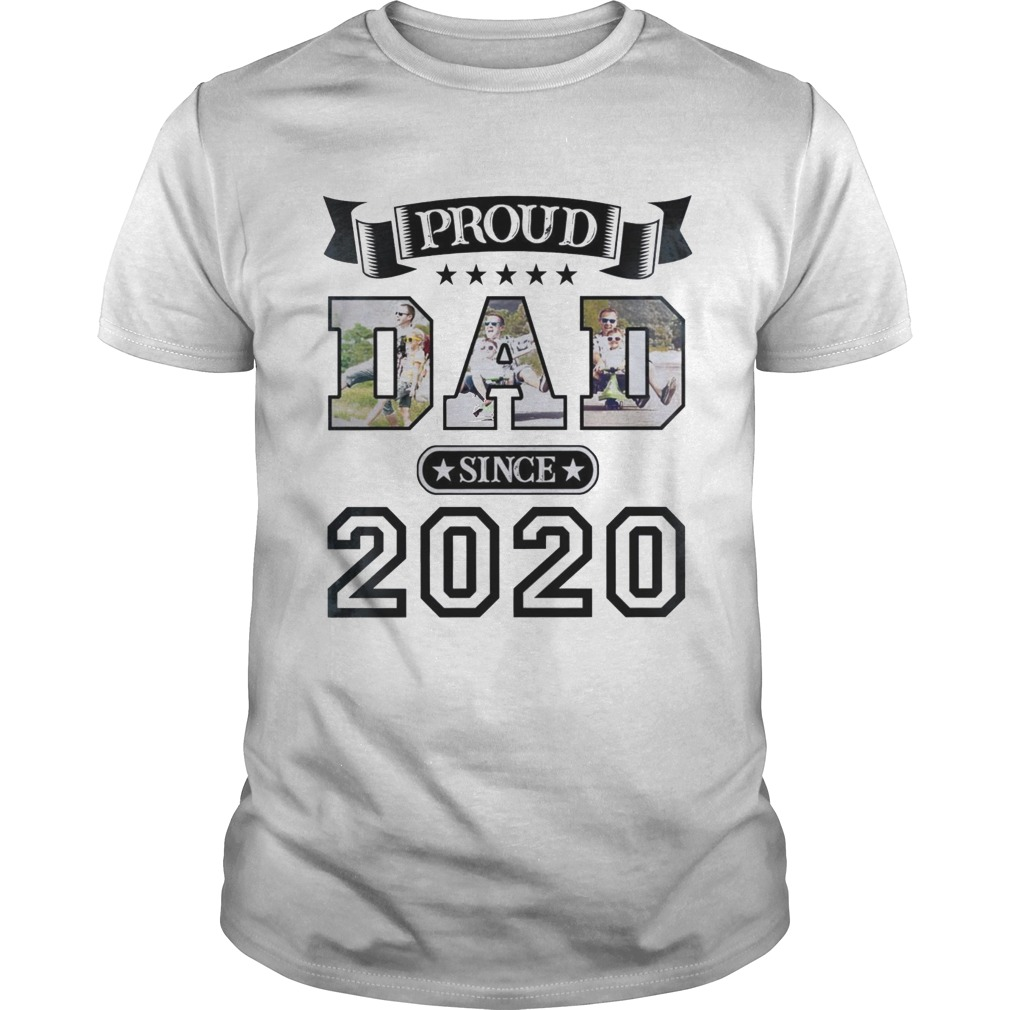 Proud Dad Since 2020 shirt Classic Men's