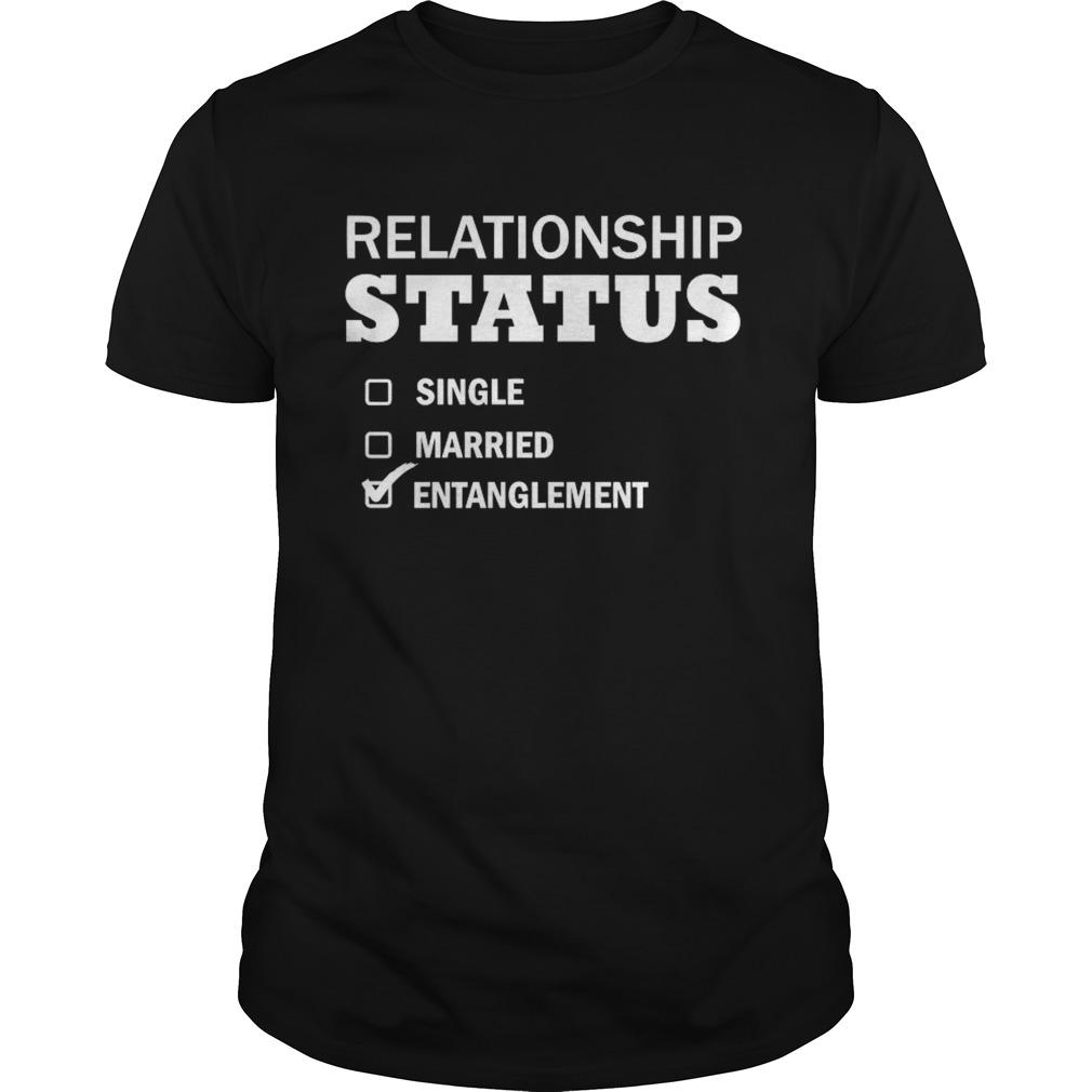 Relationship Status Single Married Entanglement shirt Classic Men's