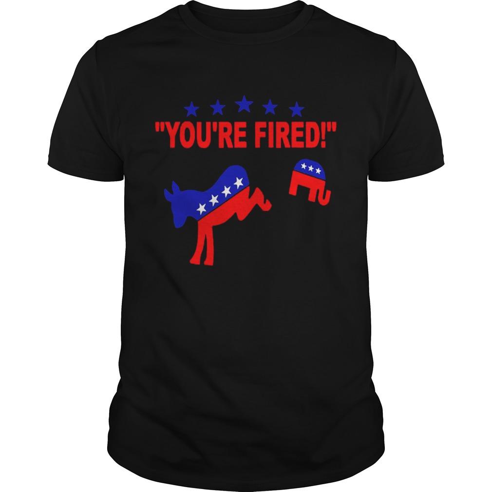 Youre Fired 2020 Joe Biden Bye Bye Donald AntiTrump shirt Classic Men's