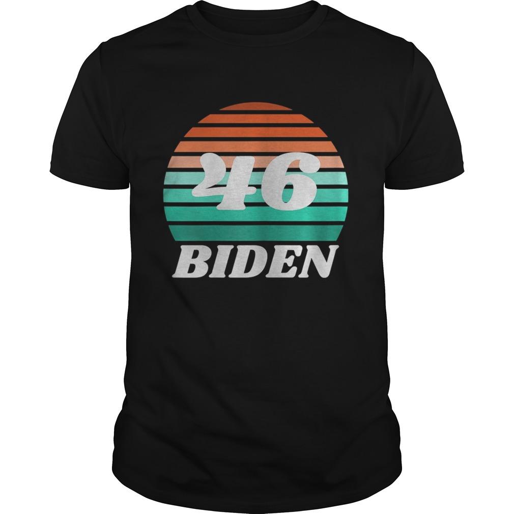 46 Biden Vintage Retro shirt Classic Men's