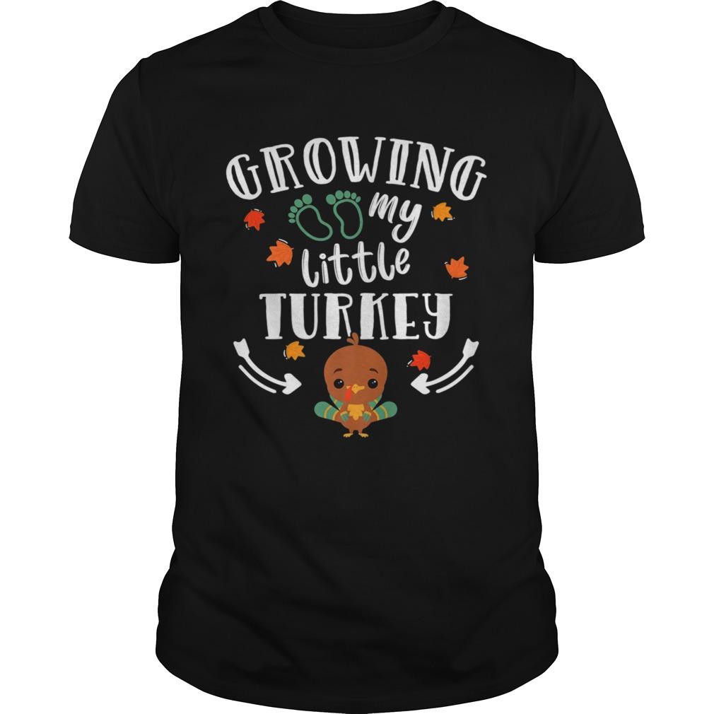 Growing My Turkey Thanksgiving shirt Classic Men's
