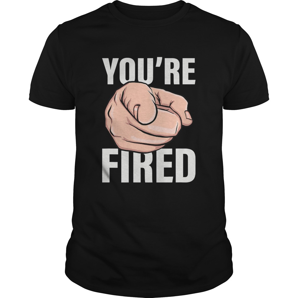 Trump youre fired bye don 2020 stars shirt Classic Men's
