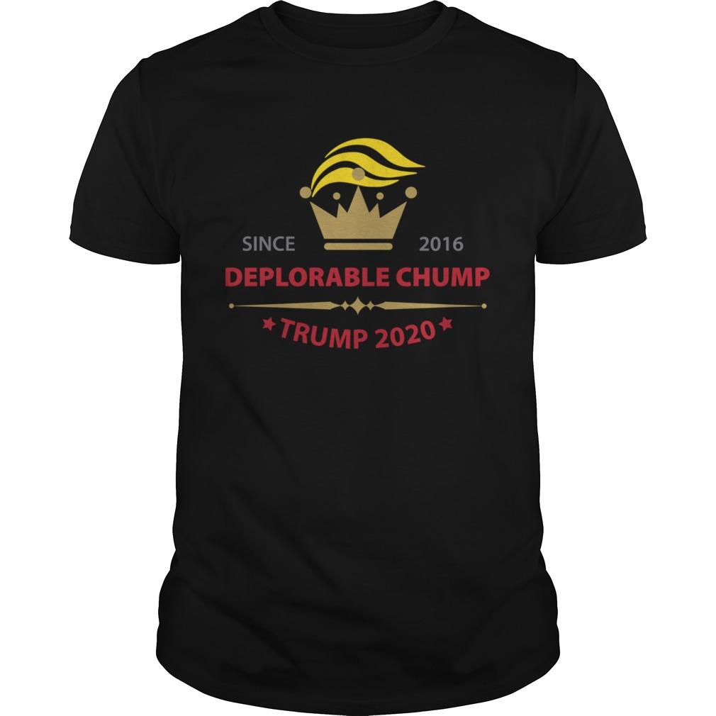Deplorable Chump for Trump 2020 shirt Classic Men's