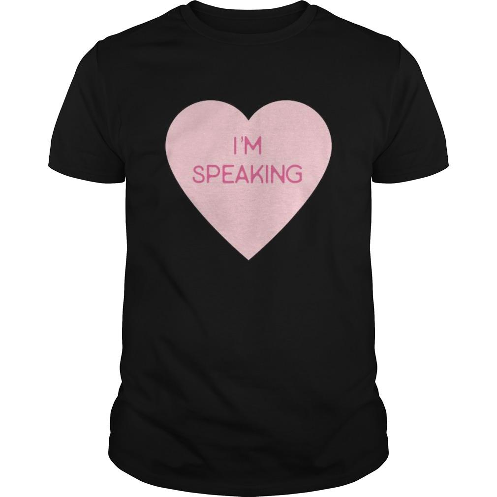 Quote Pink Heart Im Speaking shirt Classic Men's