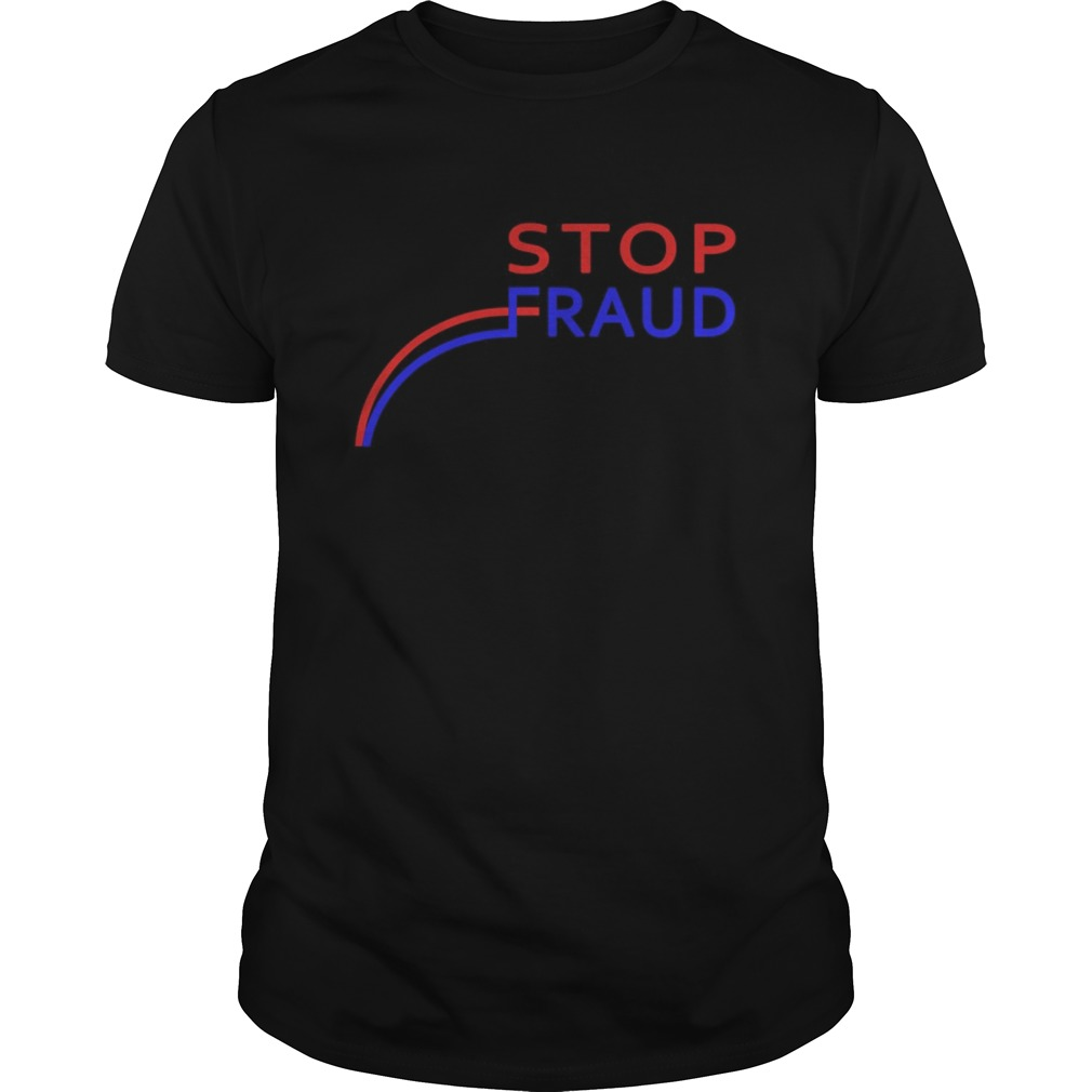 Stop Fraud Presidential Election Vote Graph Chart shirt Classic Men's