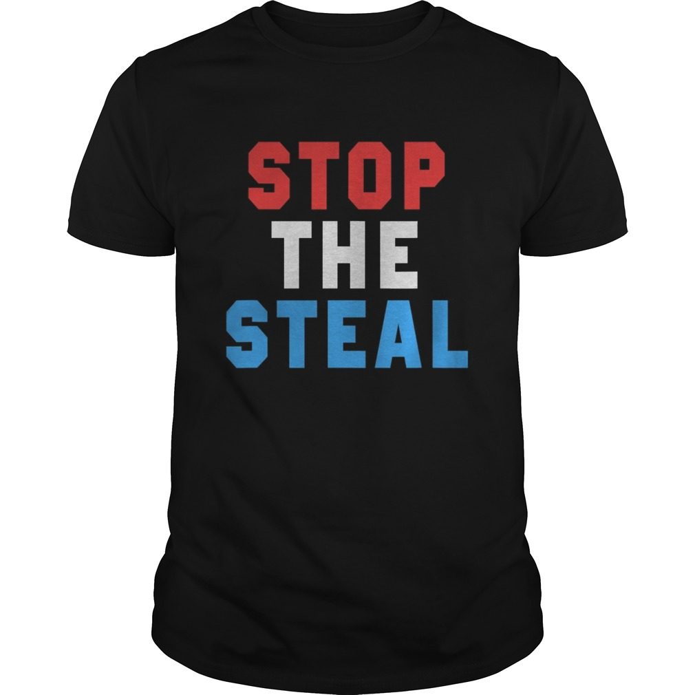 Stop The Steal Trump 2020 Election shirt Classic Men's