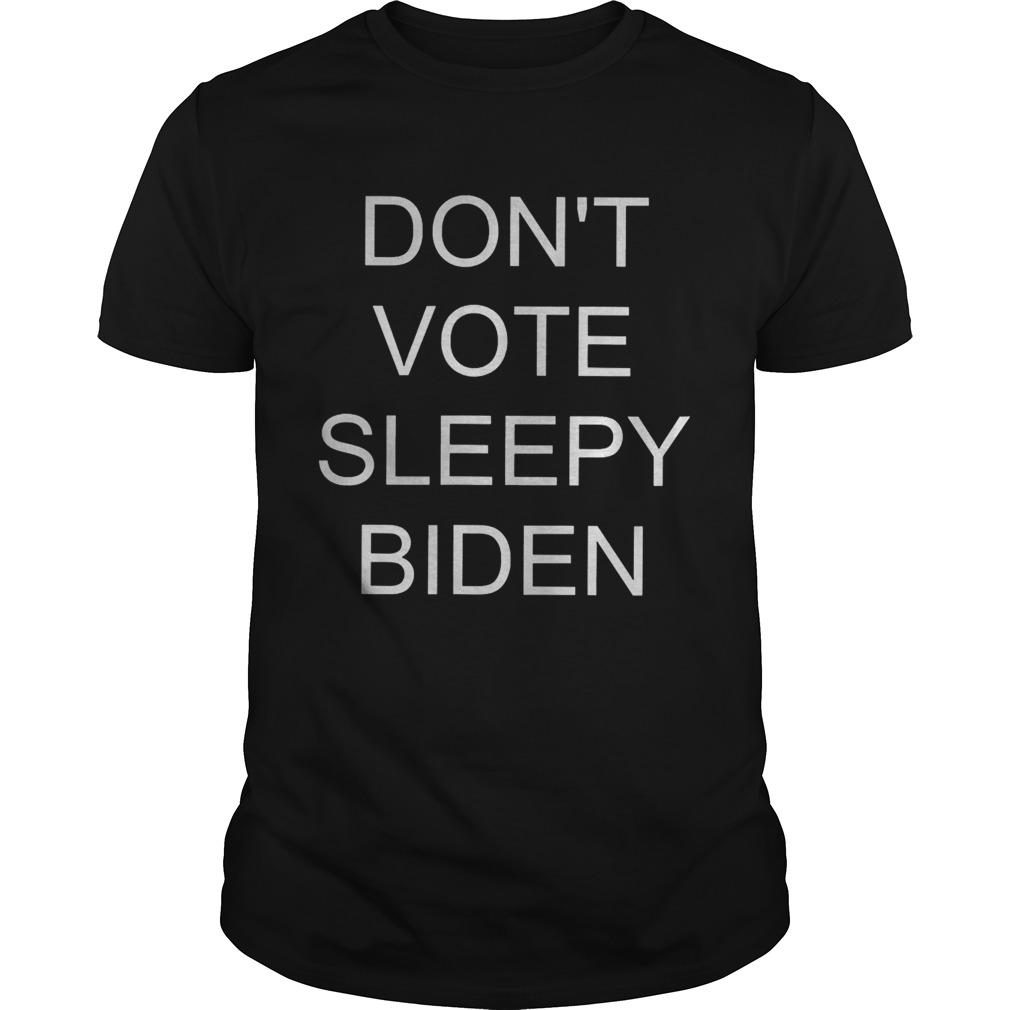 Dont vote sleepy biden shirt Classic Men's