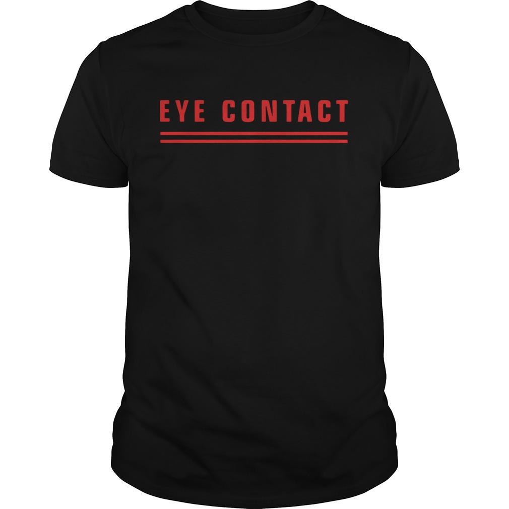 Eye contact tits shirt Classic Men's