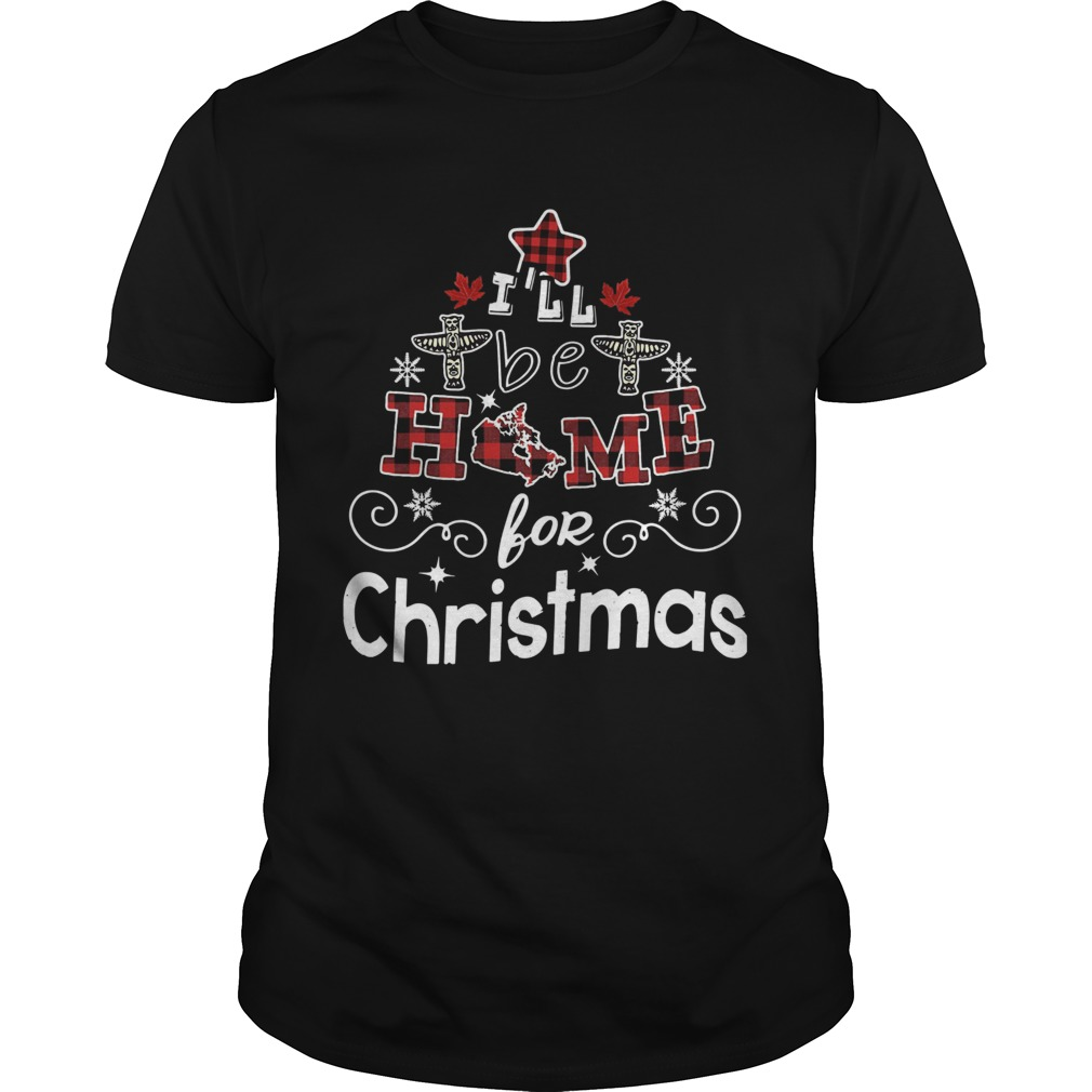 Ill Be Home For Christmas shirt Classic Men's