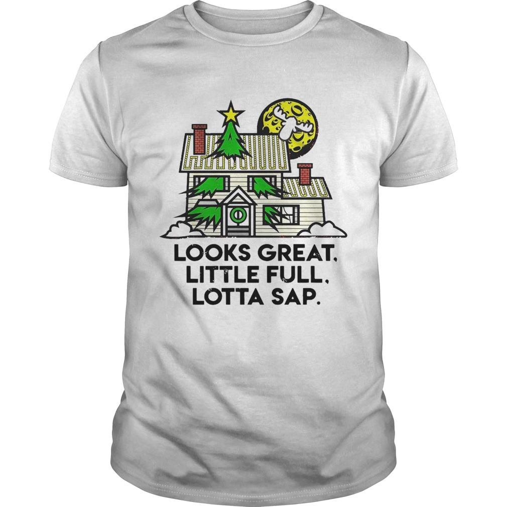 Look Great Little Full Lotta Sap Christmas shirt Classic Men's