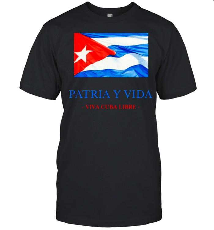 Patria Y Vida Viva Cuba Libre shirt Classic Men's T-shirt
