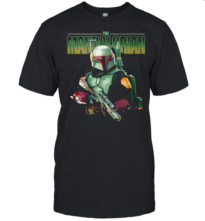 The Mandalorian Hold Gun shirt Classic Men's T-shirt
