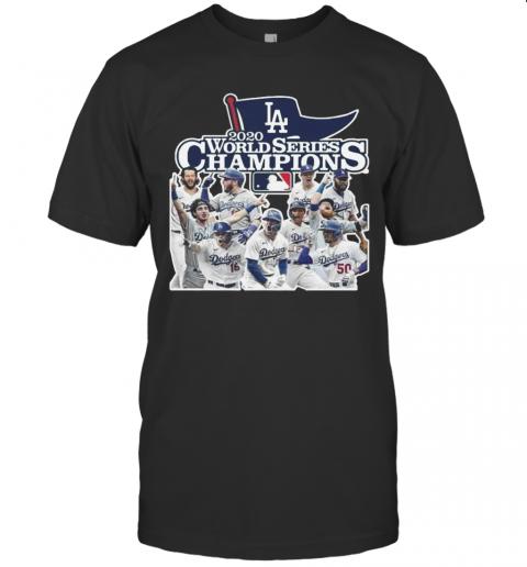 Los Angeles Dodgers 2020 World Series Champions Beat Tampa Bay Rays MLB shirt Classic Men's