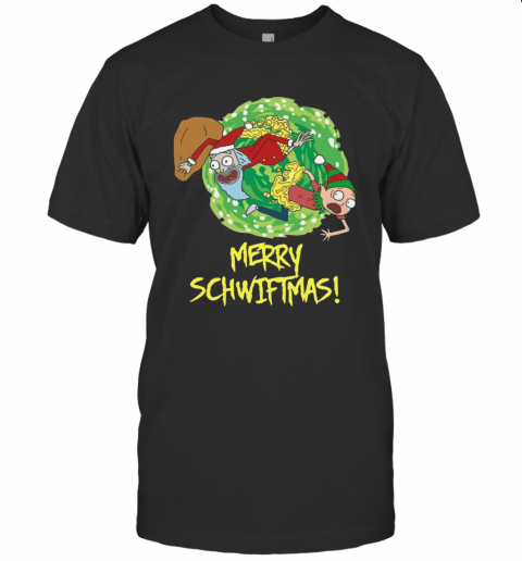Rick And Morty Merry Christmas Merry Swiftmas shirt Classic Men's