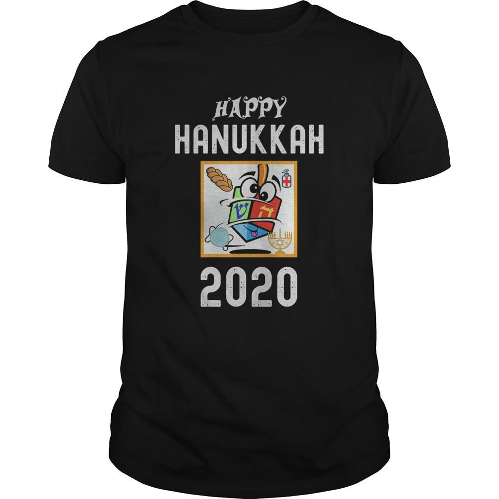 Happy hanukkah 2020 sanitizer and challah shirt Classic Men's