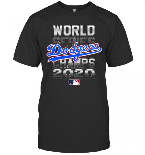MLB World Series Los Angeles Dodgers Champs 2020 shirt Classic Men's