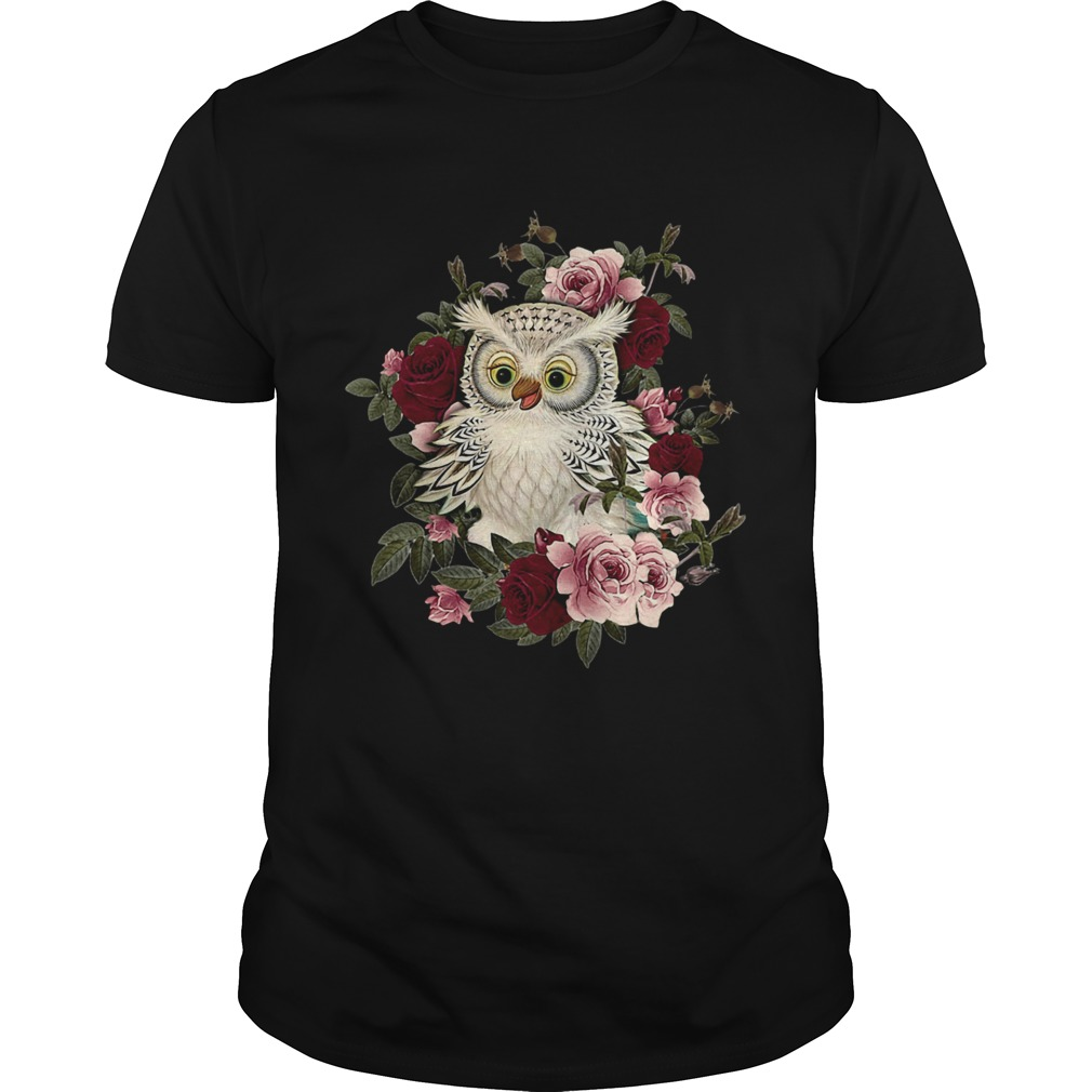 owl and rose shirt Classic Men's