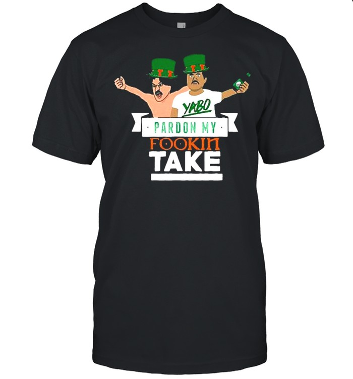 Pardon My Take St Patricks Day shirt Classic Men's T-shirt